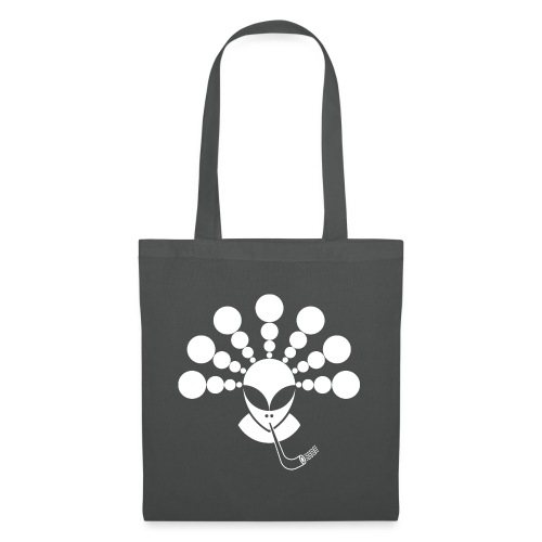 The Smoking Alien White - Tote Bag
