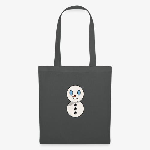bonhomme de neige - Sac en tissu