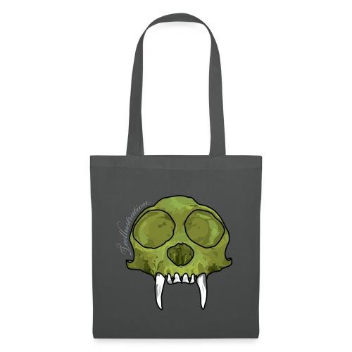 GreenMonkeySkull png - Tas van stof