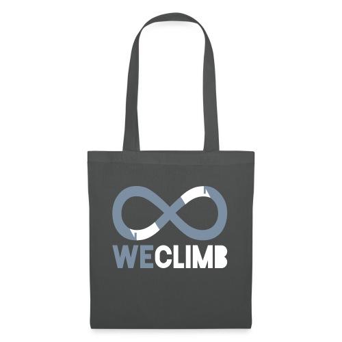 WeClimb.it - maglietta bianca - Borsa di stoffa