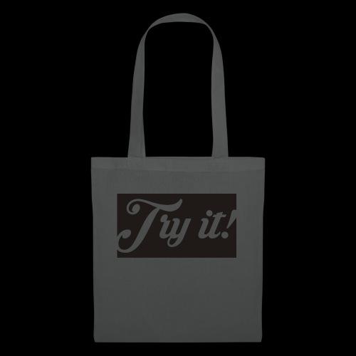 TRY IT! / INTENTALO! - Bolsa de tela