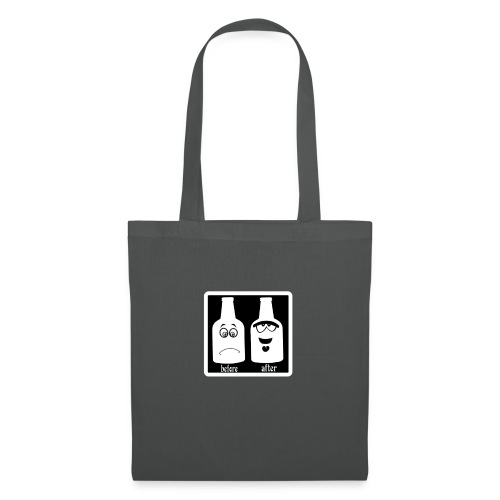 after before noir - Tote Bag