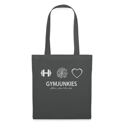 -Fitness, Food & Love- tasje - Tas van stof