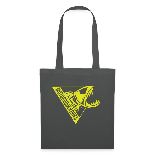 Logo Motoboquerones amarillo - Bolsa de tela