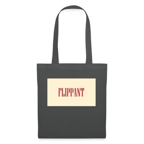 Flippant, borsa / tazza o spilla irriverente - Borsa di stoffa