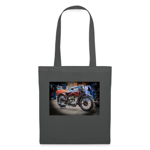 the motorbike davidon style - Tote Bag