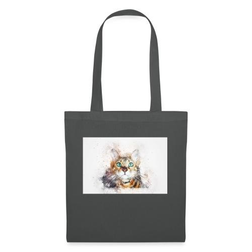 Katzen Design - Stoffbeutel