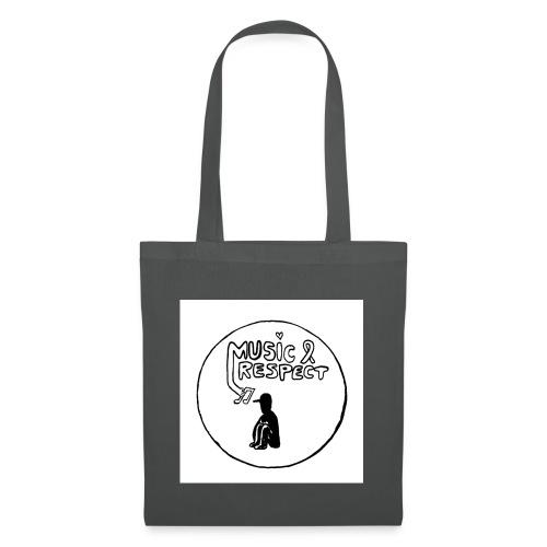 logo music respect web jpg - Tote Bag