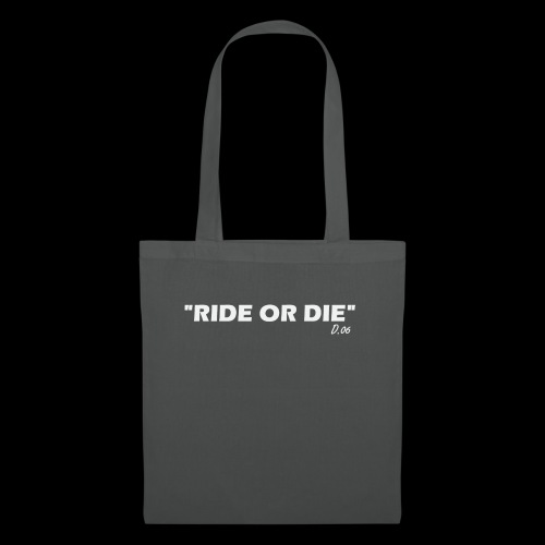 Ride or die (blanc) - Tote Bag