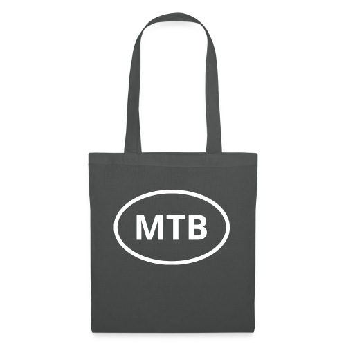 MTB | Mountain Bike Oval Logo - Tote Bag