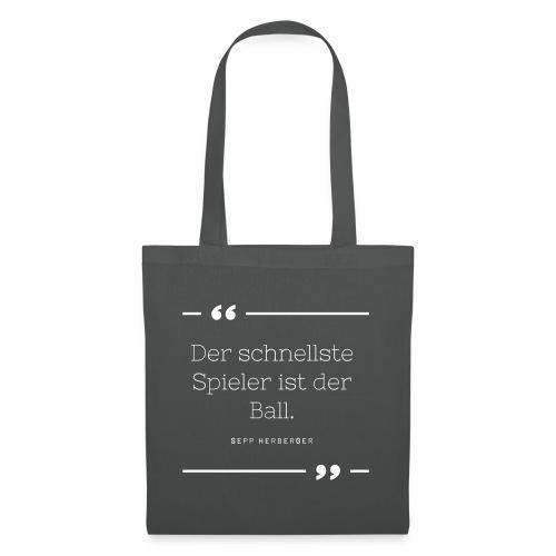 Sepp Herberger Zitat - Stoffbeutel