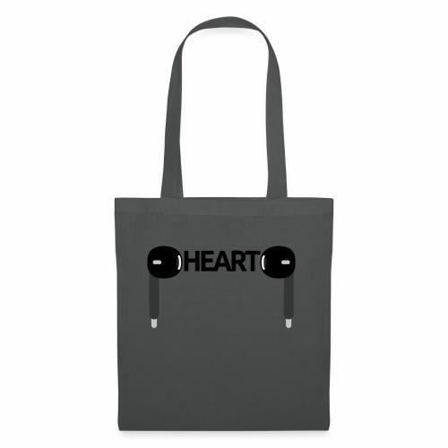 ListenToYourHeart - Torba materiałowa