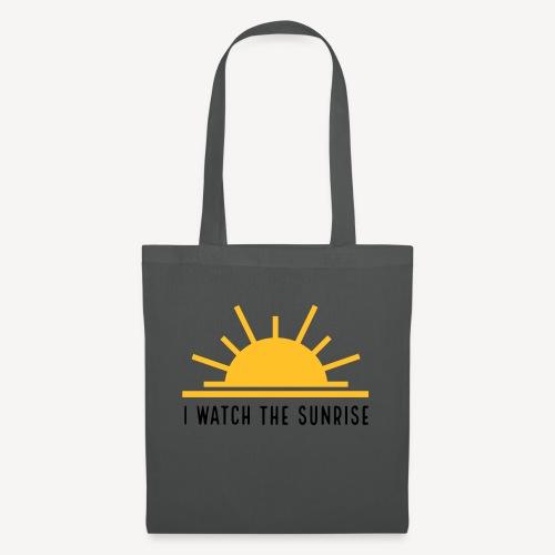 I WATCH THE SUNRISE - Stoffbeutel