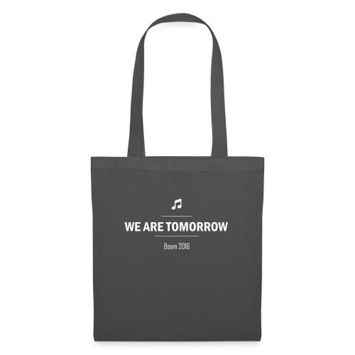 We Are Tomorrow White - Sac en tissu