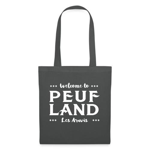 Peuf Land Aravis - White - Tote Bag