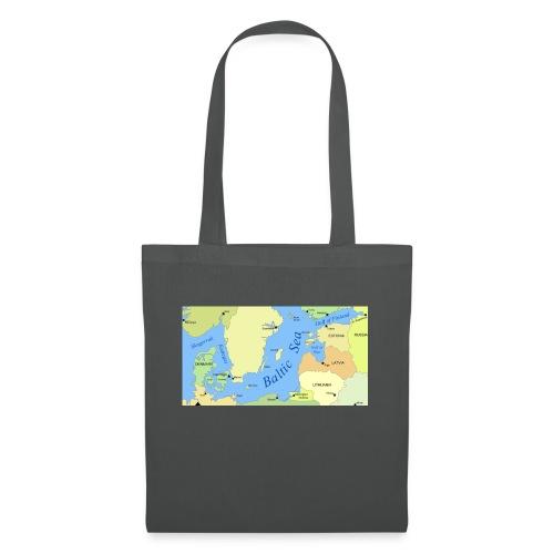 Baltic Sea Map - Tote Bag