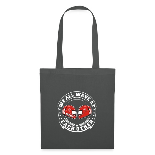 WE ALL WAVE - BLANC - Tote Bag