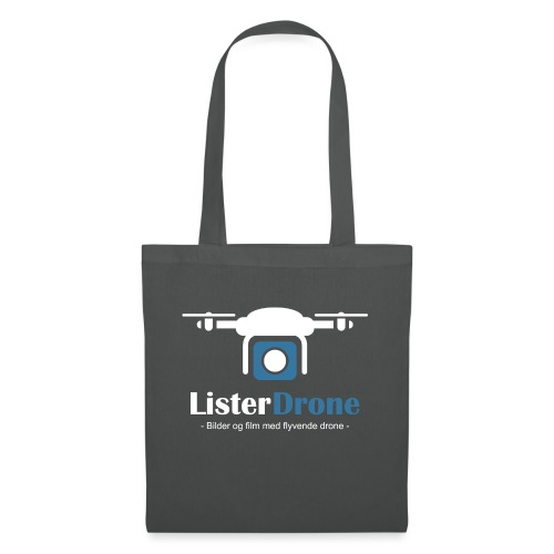 ListerDrone logo - Stoffveske
