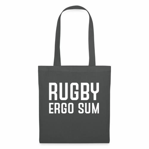 Marplo RugbyergosUM WHT - Borsa di stoffa