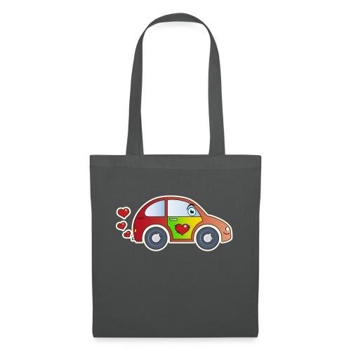 Kids Car Spielzeugauto Herzen bunt fröhlich Kinder - Tote Bag