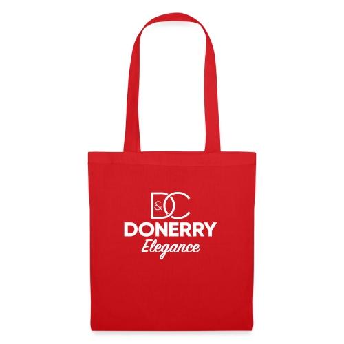 Donerry Elegance NEW White on Dark - Tote Bag
