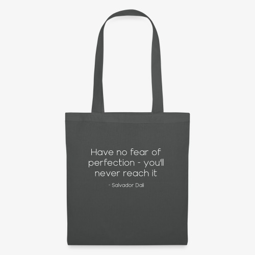 Salvador Dalí Quote - Tote Bag