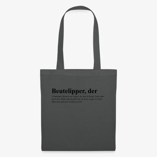 Beutelipper - Wörterbuch - Stoffbeutel