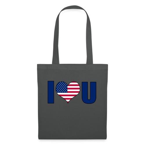 I love u USA - Tote Bag