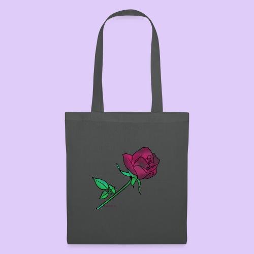 Diseño rose - Bolsa de tela