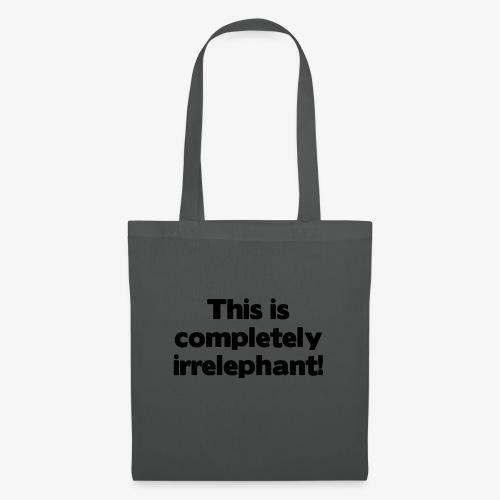 Irrelephant - Stoffbeutel