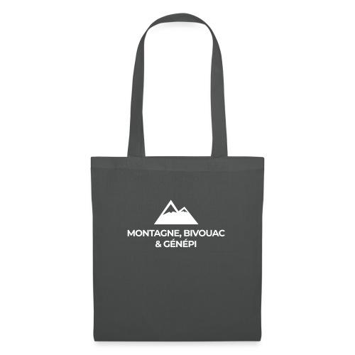 Montagne, bivouac et Génépi - Sac en tissu