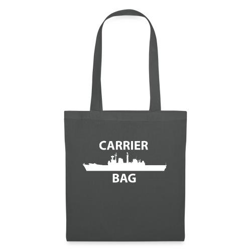 carrier bag white - Tote Bag