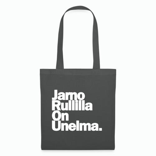 Jarno Rullilla On Unelma. - Kangaskassi