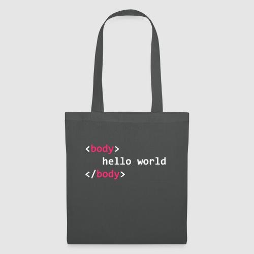 hello-world-png - Tote Bag