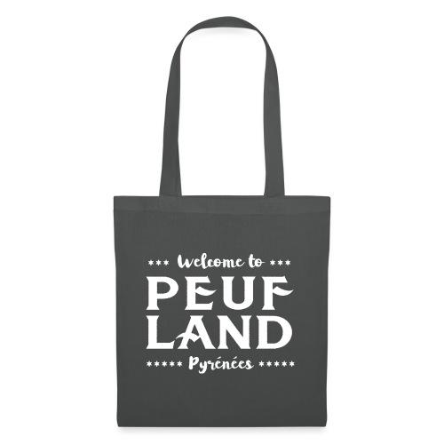 Peuf Land Pyrénées - White - Tote Bag