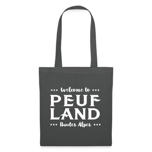 Peuf Land 05 - Hautes-Alpes - White - Tote Bag