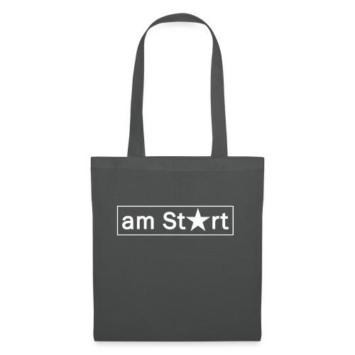 am Start - Stoffbeutel