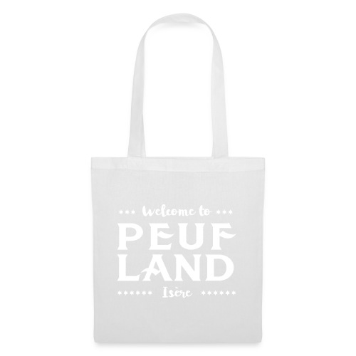 Peuf Land 38 - Isère - White - Tote Bag
