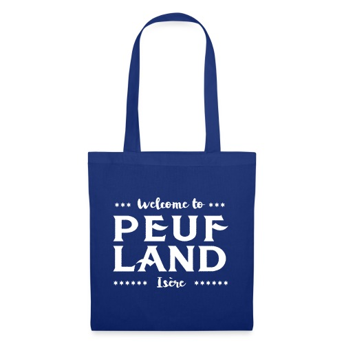 Peuf Land 38 - Isère - White - Tote Bag