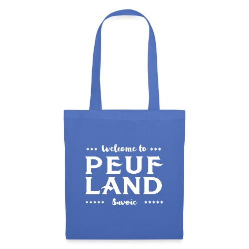 Peuf Land 73 - Savoie - White - Tote Bag
