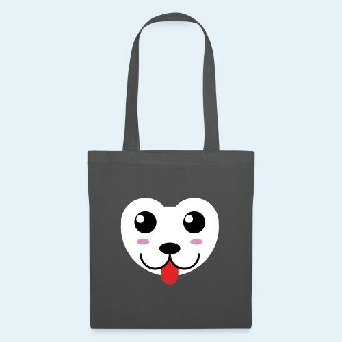 Husky perro bebé (baby husky dog) - Bolsa de tela