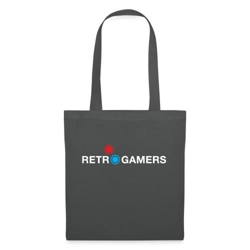 Logo Retrogamers Blanco - Bolsa de tela