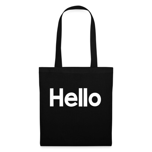 Hello#2 - Stoffbeutel