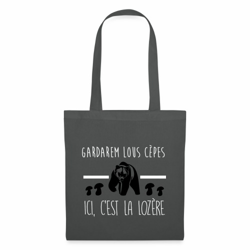 Gardarem Lous Cèpes Bicolore - Tote Bag