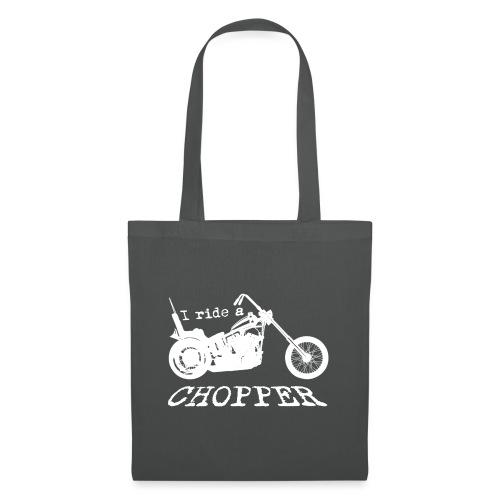 I ride a chopper - hvid - Mulepose