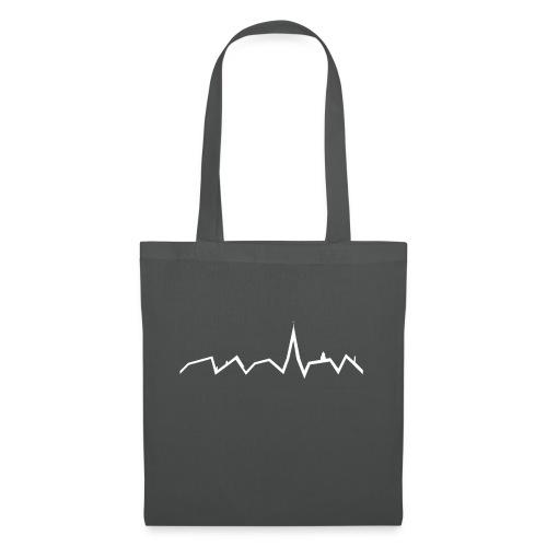 Heartbeat ohne Schriftzug - Stoffbeutel