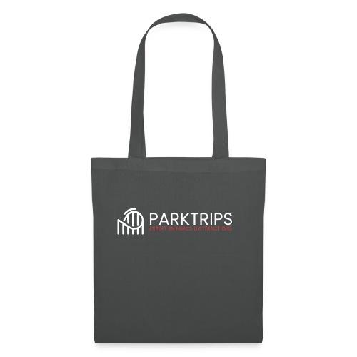 Park Trips - Logo Blanc - Tote Bag