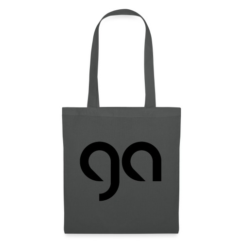 Logo Gymnasium Altlünen schwarz - Stoffbeutel