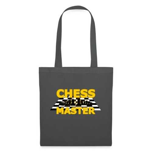 Chess Master - Black Version - By SBDesigns - Tote Bag
