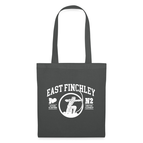 EF College Style Type and Archer Design - Tote Bag